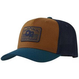 Outdoor Research Advocate Trucker Cap, prussian blue